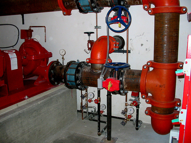 Test Drain Pump The Fire Pump Test is Required